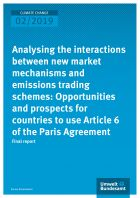 Analysing the interactions between new market mechanisms and emissions trading schemes: Opportunities and prospects for countries to use Article 6 of the Paris Agreement