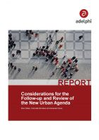 Considerations for the Follow-up and Review of the New Urban Agenda - adelphi