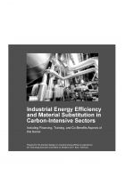 Industrial Energy Efficiency and Material Substitution in Carbon-Intensive Sectors - adelphi