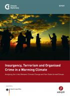 Insurgency, Terrorism and Organised Crime in a Warming Climate - Climate Diplomacy
