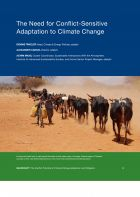 The Need for Conflict-Sensitive Adaptation to Climate Change