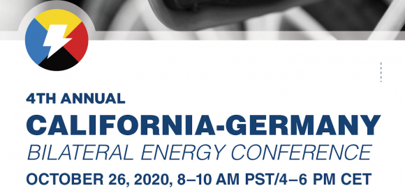 Save the Date: California Germany Bilateral Energy Conference 2020
