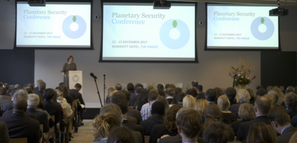 Plenary session ta the Planetary Security Conference 2017