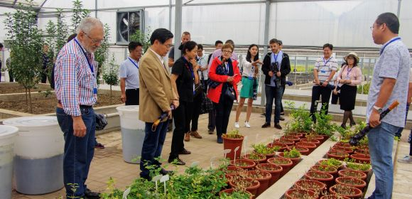 adelphi shares practices of coastal agriculture in the People's Republic of China