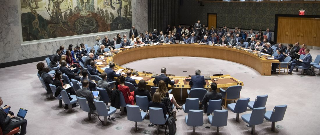 Security Council meeting on The promotion and strengthening of the rule of law in the maintenance of international peace and security. International humanitarian law