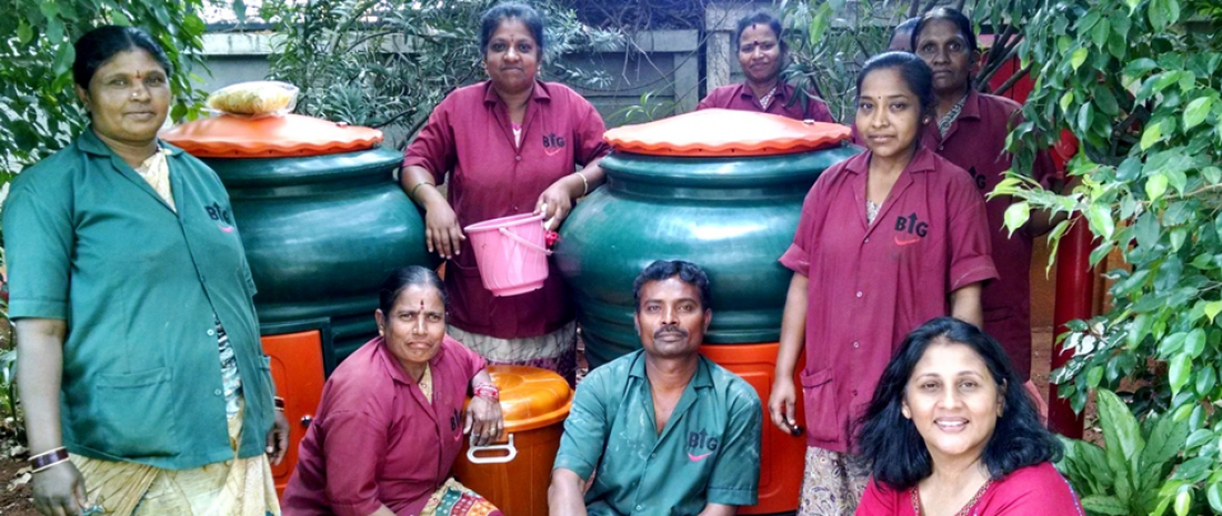 2018 SEED Low Carbon Award Winner, Daily Dump, India