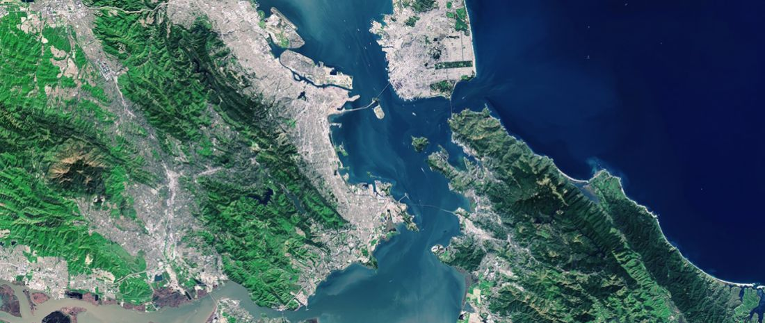 San Francisco Bay Area, USA, June 2015