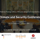 Berlin Climate and Security Conference Ankündigung