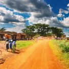 Street in Africa