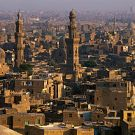 Egypt, Cairo, cityscape, view from Cairo Citadel
