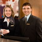 Hotel concierge and manager