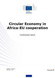 Cover Circular economy in the Africa-EU cooperation