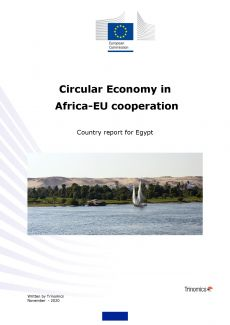 Cover Circular Economy Country report Egypt
