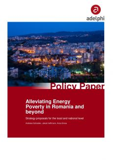 Cover EnPower Policy Paper: Alleviating energy poverty in Romania and beyond