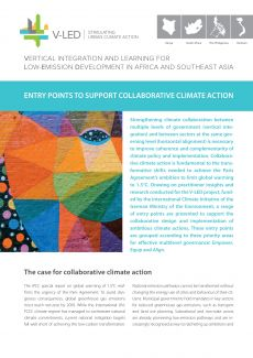 Entry points to support collaborative climate action - adelphi