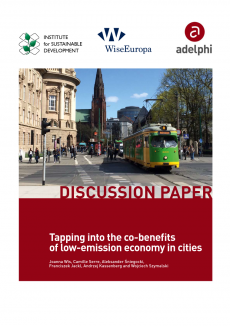 Tapping into the co-benefits of low-emission economy in cities