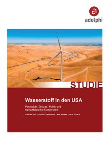Cover Wasserstoff in den USA