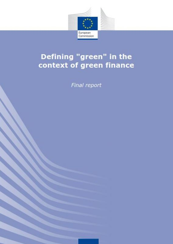 "Defining ""green"" in the context of green finance"