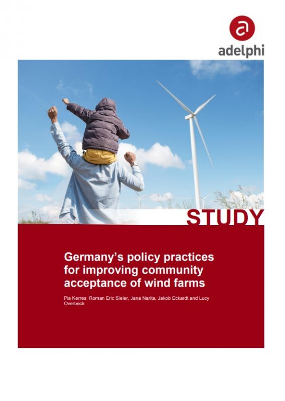 Germany's policy practices for improving community acceptance of wind farms [Cover]
