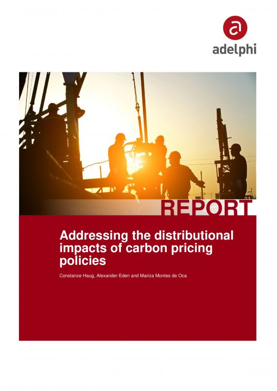 Addressing distributional impacts of carbon pricing policies - adelphi