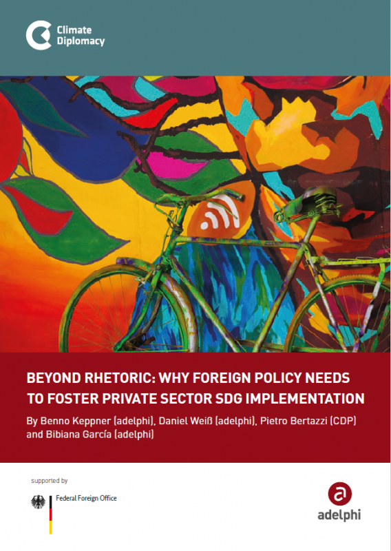 Beyond Rhetoric: Why Foreign Policy Needs to Foster Private Sector SDG Implementation