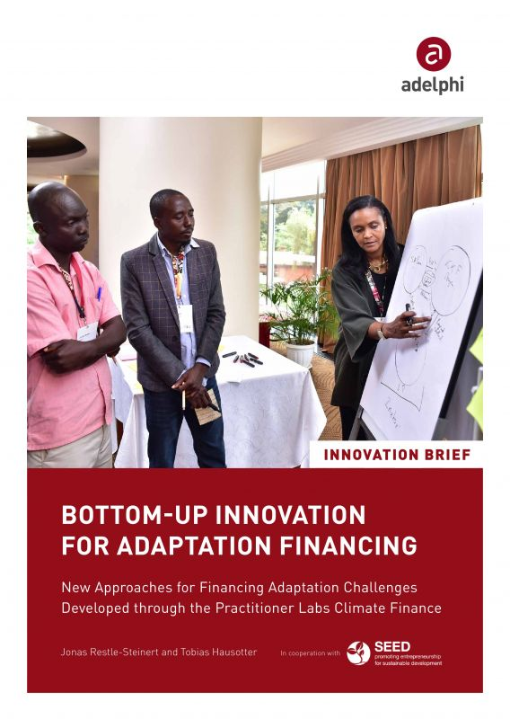 Bottom-up Innovation for Adaptation Financing - adelphi SEED