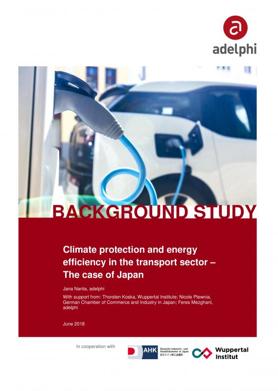 Climate protection and energy efficiency in the transport sector - the case of Japan - adelphi