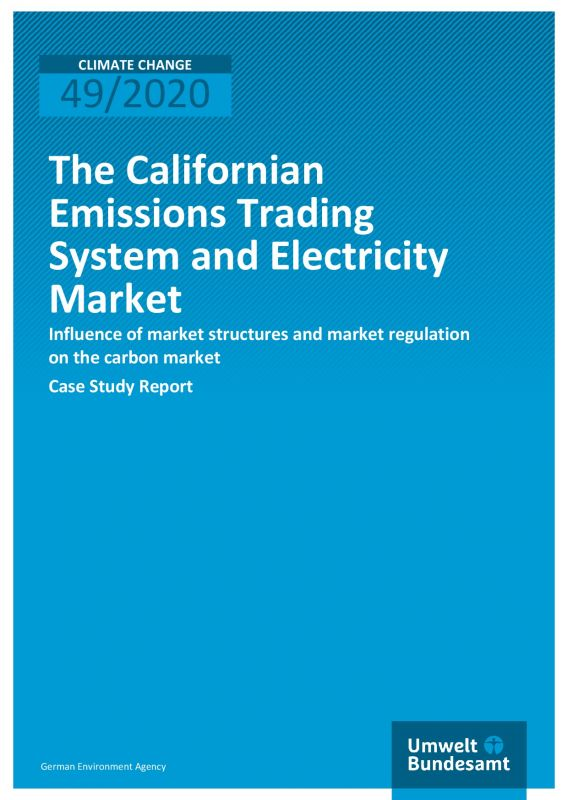 Cover_Californian Emissions Trading System and Electricity Market