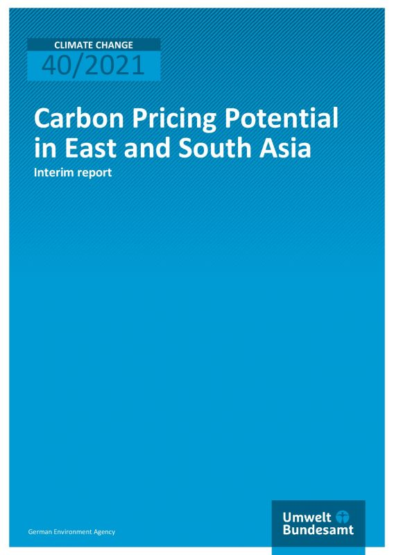Cover Carbon Pricing Potential in East and South Asia