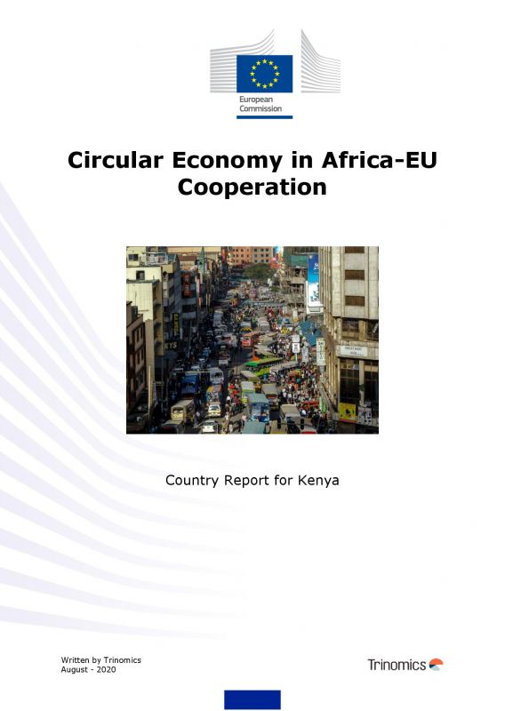 Cover Circular Economy Country report Kenya