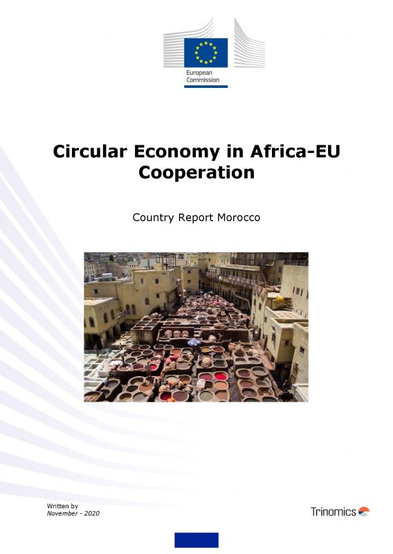 Cover Circular Economy Country report Morocco