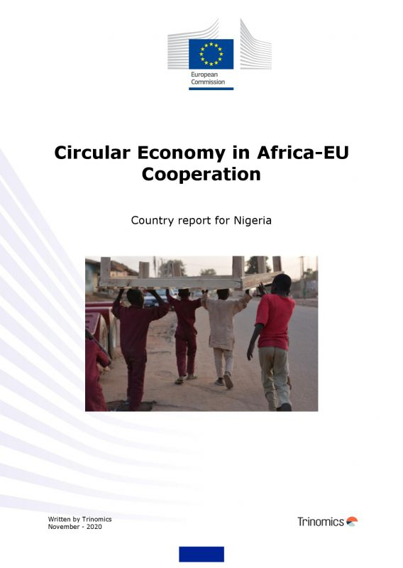 Cover Circular Economy Country report for Nigeria