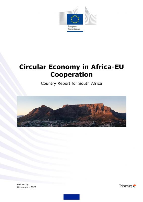 Cover Circular Economy Country report South Africa