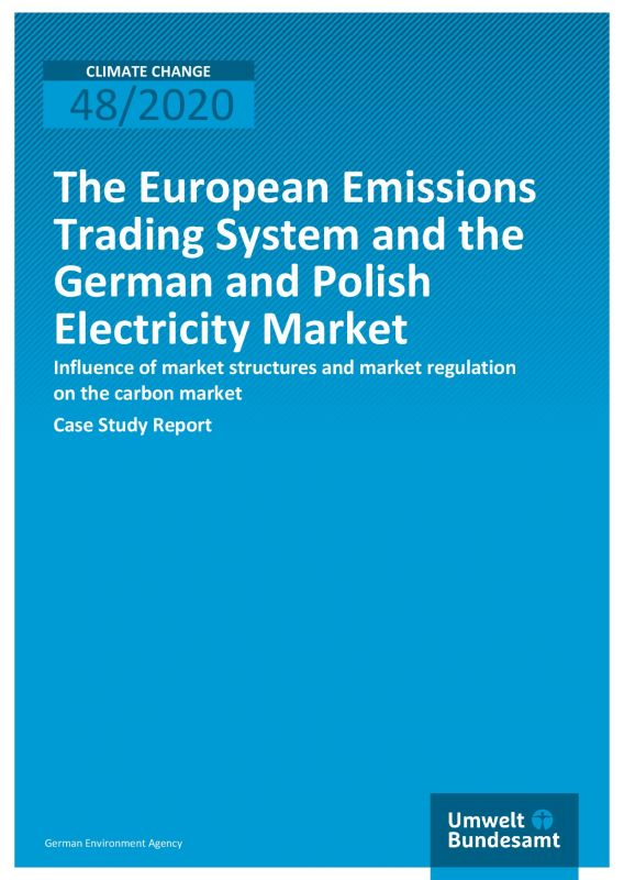 Cover European Emissions Trading System and the German and Polish Electricity Market