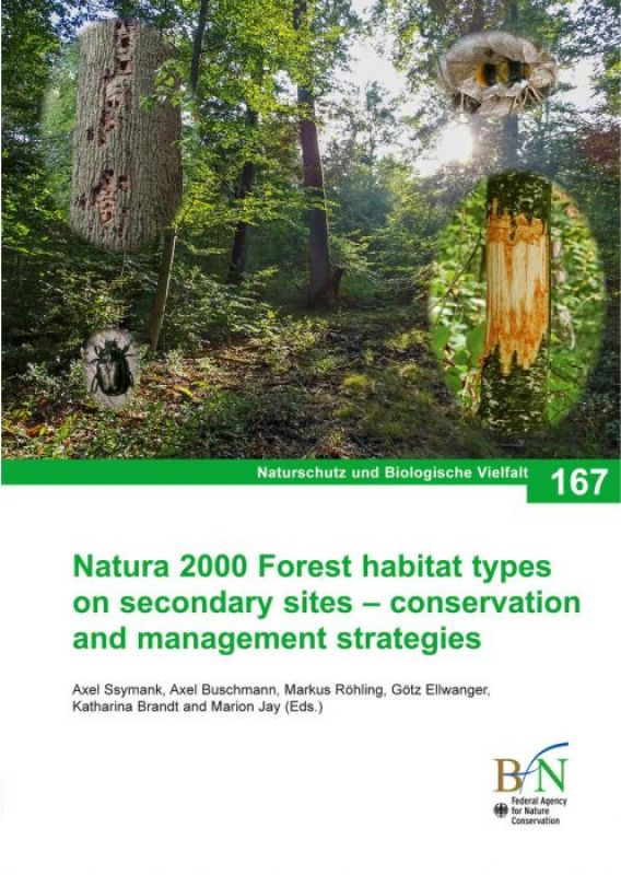 Cover Natura 2000 Forest habitat types on secondary sites – conservation and management strategies