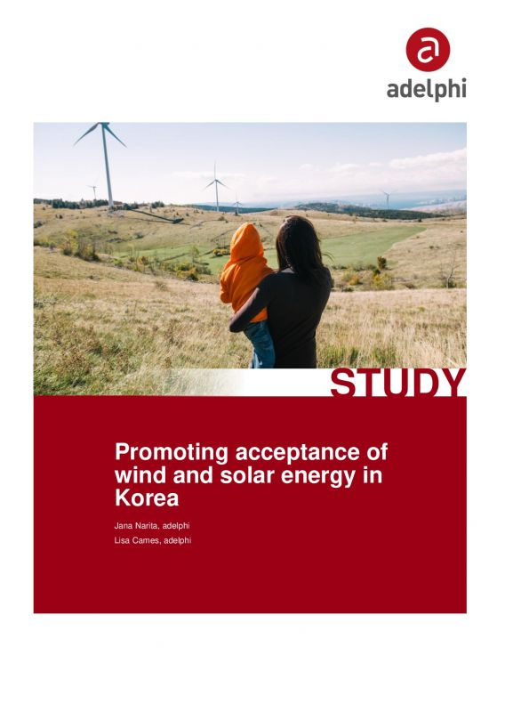 Cover Study Acceptance of Renewables in Korea