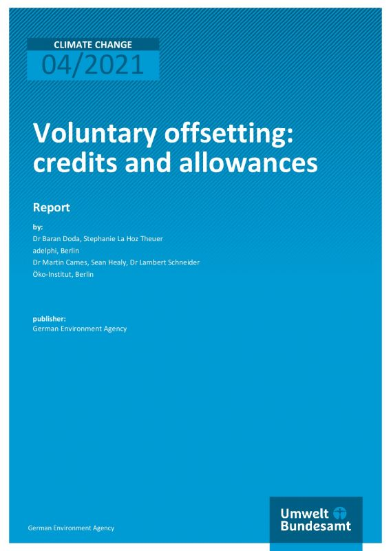 Cover Voluntary Offsetting