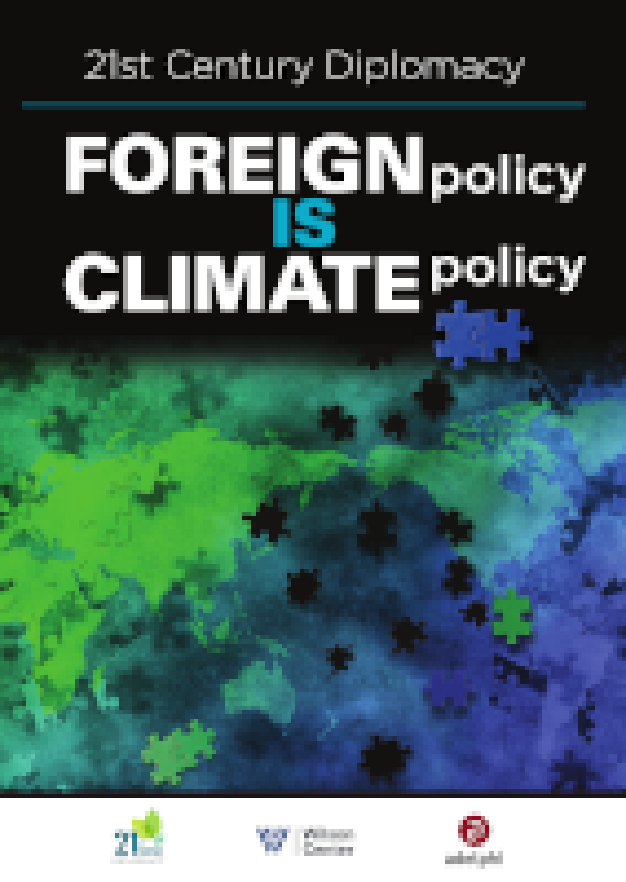 Cover Publikation Foreign Policy is Climate Policy