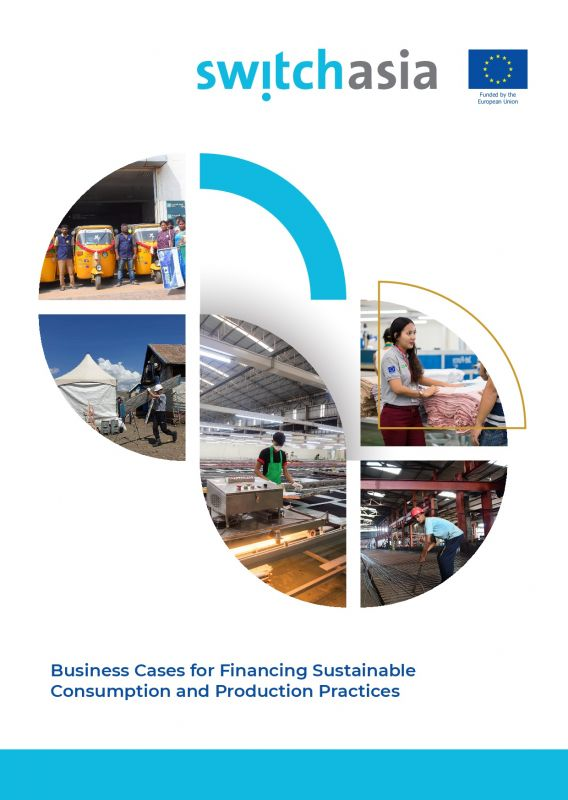 Cover Business Cases for Financing Sustainable Consumption and Production Practices