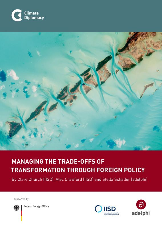 Managing the trade-offs of transformation through foreign policy - adelphi