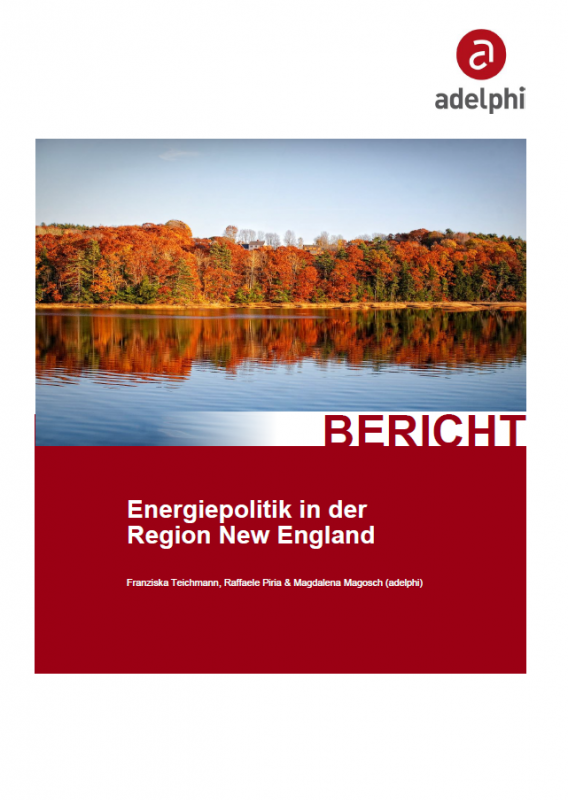 Energiepolitik in der Region New England