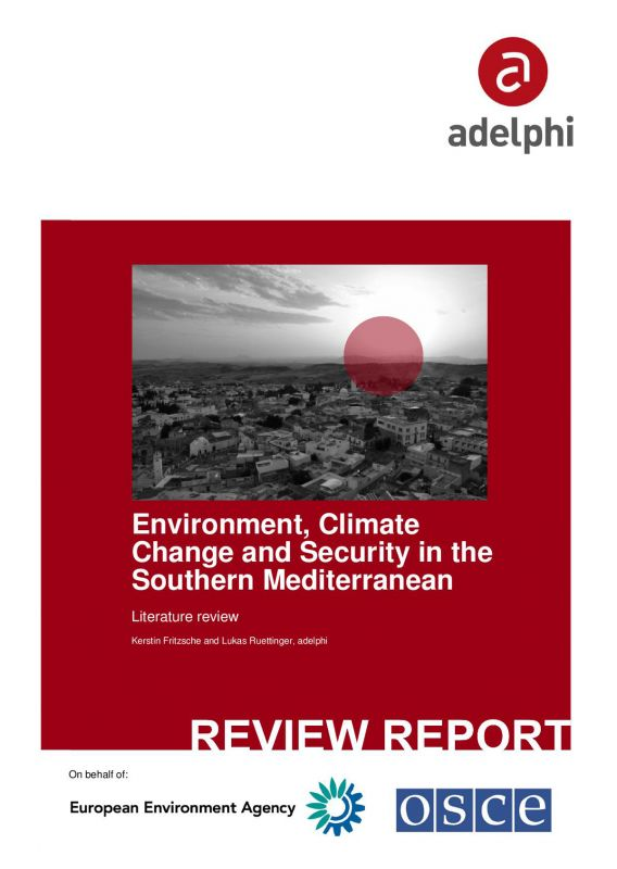 Environment, Climate Change and Security_Southern Mediterranean