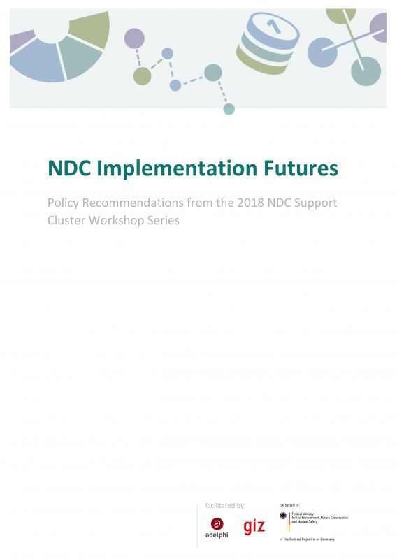 NDC Implementation Futures - Policy Recommendations from the 2018 NDC Support Cluster Workshop Series