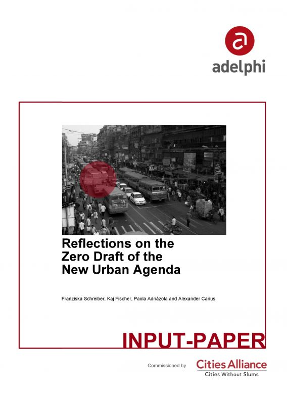 Reflections on the Zero Draft of the New Urban Agenda