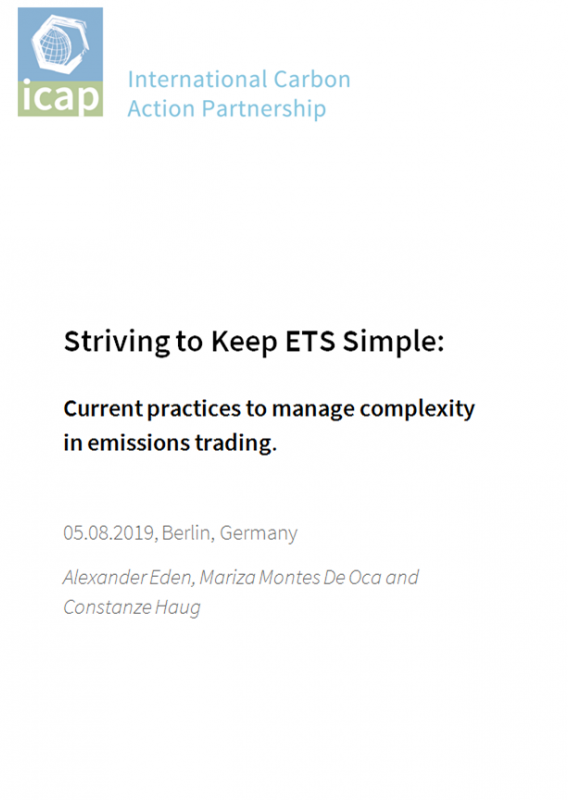 Striving to Keep ETS Simple Current practices to manage complexity in emissions trading - International Carbon Action Partnership ICAP.png