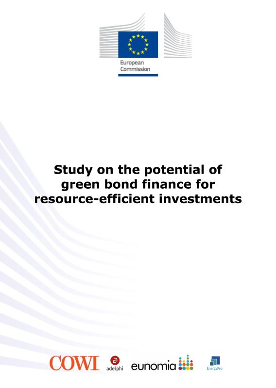 Study on the potential of green bond finance for resource-efficient investments - adelphi