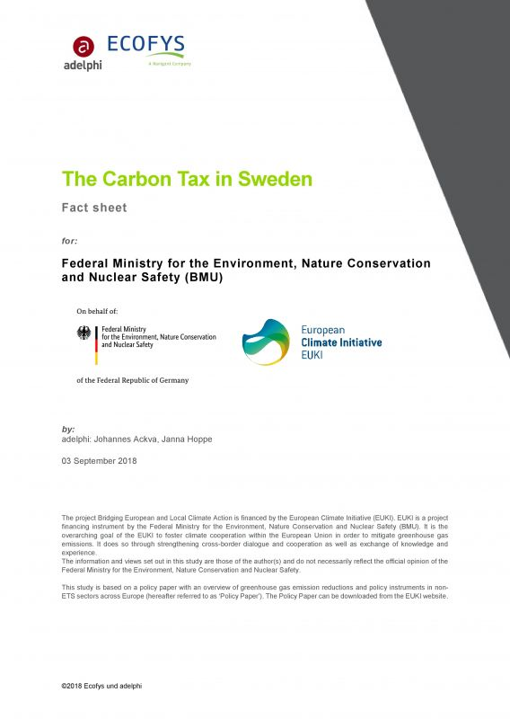 The Carbon Tax in Sweden