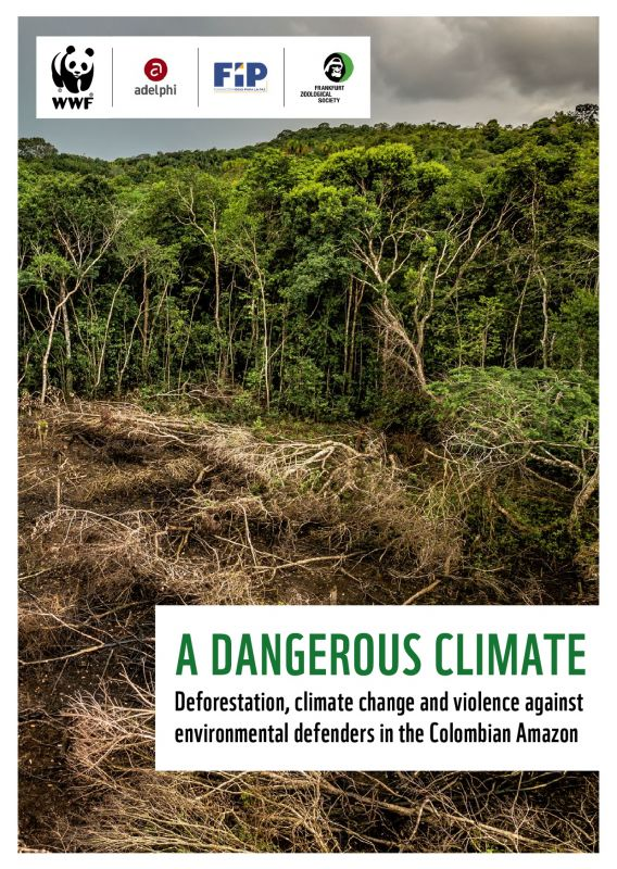 A DANGEROUS CLIMATE: Deforestation, climate change and violence against environmental defenders in the Colombian Amazon