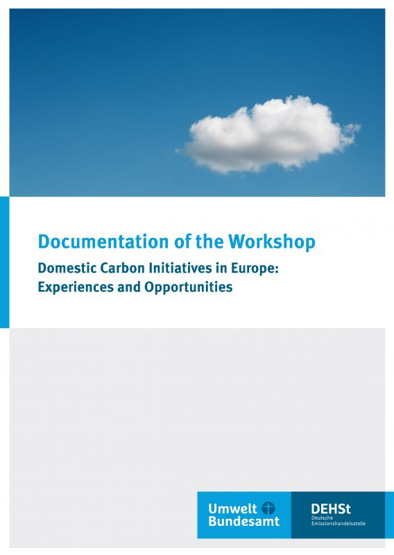 Cover Workshop Documentation Domestic Carbon Initiatives in Europe