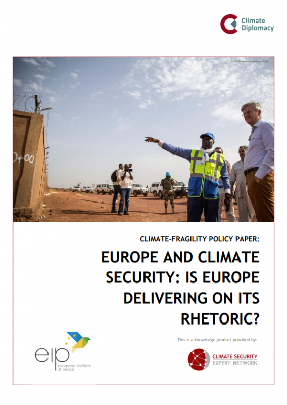 Cover: Europe and Climate Security